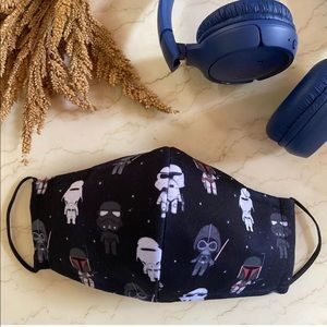 ✨Host Pick✨ Cool StarWarsBreathable Adult FaceMask